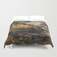 once upon a  time Duvet Covers featuring Once Upon a Time by Klara Acel