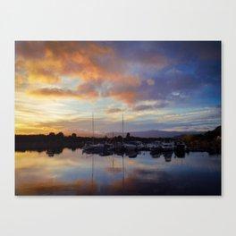 New Zealand Sunrise Canvas Print