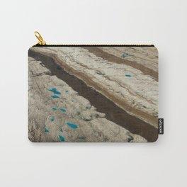ALASKA III: Ruth Glacier Textures Carry-All Pouch