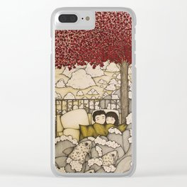 swept away & stranded Clear iPhone Case
