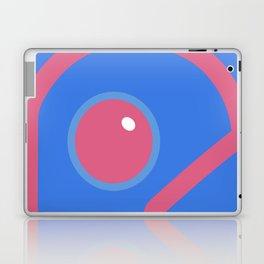 Futuristic Cyborg Logo 6 Laptop & iPad Skin