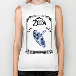 Zelda legend - Ocarina of time Biker Tank