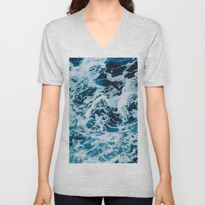Lovely Seas Unisex V-Neck