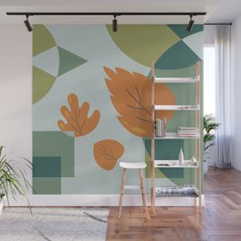 The Leaves Wall Mural