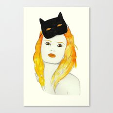 Be a cat Canvas Print