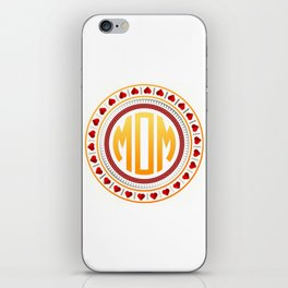 Mothersday - Love Circle iPhone Skin