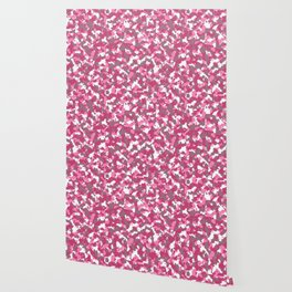 Pink camoflauge Wallpaper