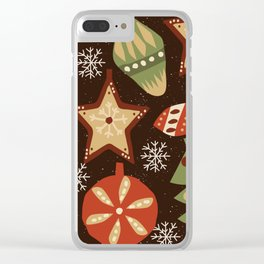 Christmas 1 Clear iPhone Case
