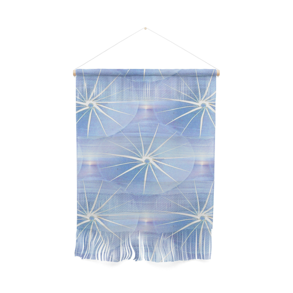 Paper Parasols (Blue) Wall Hanging by artisimo (FWW7741427) photo