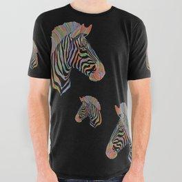 Fantasy Zebra All Over Graphic Tee