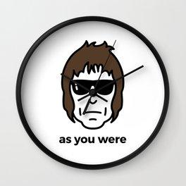 As You Were Wall Clock