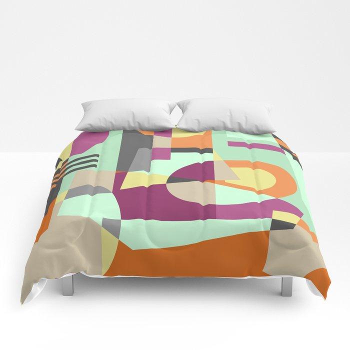 Geometric#11 Comforters