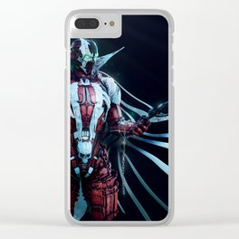 Spawn Horizontal1 Clear iPhone Case