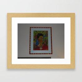 MO'Skahlo Framed Art Print