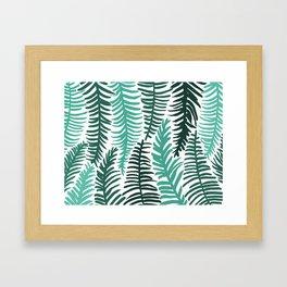 Groovy Palm Framed Art Print