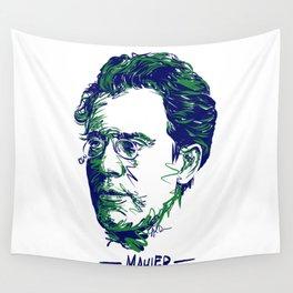Gustav Mahler Wall Tapestry