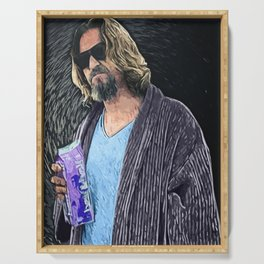 The Dude Serving Tray