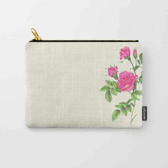 Ballpoint Pen, Redouté's Roses Carry-All Pouch