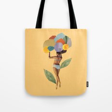 i walk out in the flowers and feel better Tote Bag