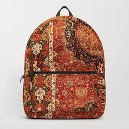 Seley 16th Century Antique Persian Carpet Backpack