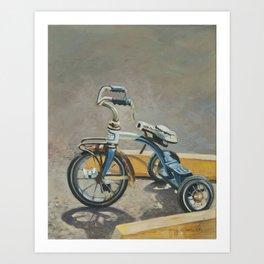 Bicycle Parking spot Art Print