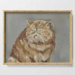 Fat Cat Serving Tray
