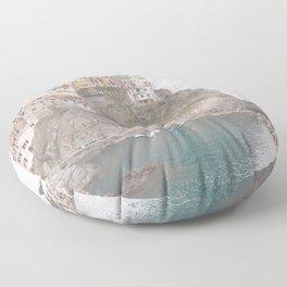 Cinque Terre, Italy Floor Pillow