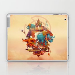 rhinos stone Laptop & iPad Skin