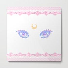 Sailor Moon Eyes Metal Print