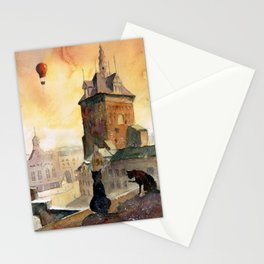 Tomcats from Gdańsk Stationery Cards