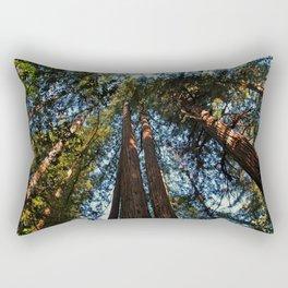 Muir Woods- horizontal Rectangular Pillow
