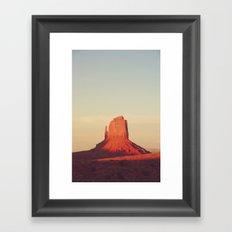 Monument Valley, P.M. Framed Art Print
