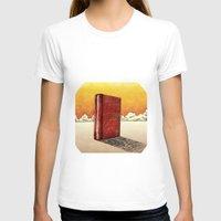 literature T-shirts featuring Literature Heavy book by gunberk