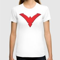 nightwing T-shirts featuring Nightwing Red by Julian Rhys