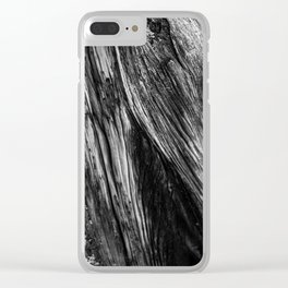 Weathered Clear iPhone Case