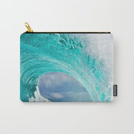 Wave Series Photograph No. 28 - Ocean Blue Carry-All Pouch
