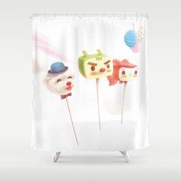 Cake Pops Shower Curtain