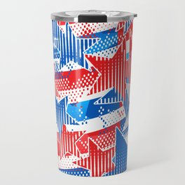 Artistic LXXXVI - Americana Travel Mug