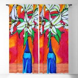 Lilies Blackout Curtain