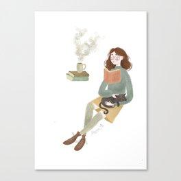 Cosy Canvas Print