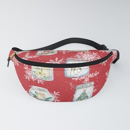 Christmas Jars Fanny Pack