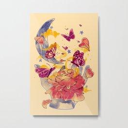 Papillon Ache Metal Print