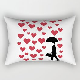 No Love Business Man Rectangular Pillow