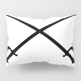 Crossed Sabres Pillow Sham