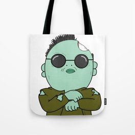 zombies style Tote Bag