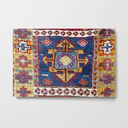 Malatya East Anatolia Antique Turkish Rug Metal Print
