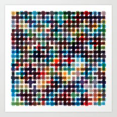 Rope Geometric Art Print. Art Print