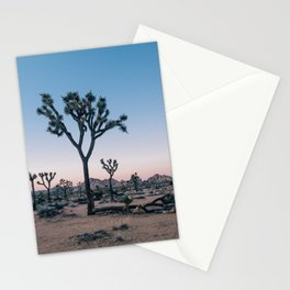 Joshua Tree at Sunset Stationery Cards