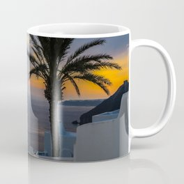 Fira,sunset,Greece Coffee Mug