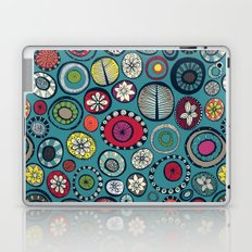 Honolulu hoops blue Laptop & iPad Skin